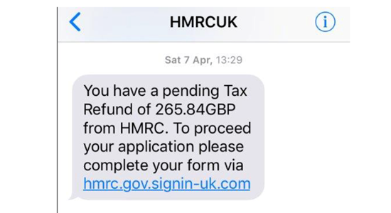 Image for the blog post Don't get scammed – these people are NOT working for HMRC!